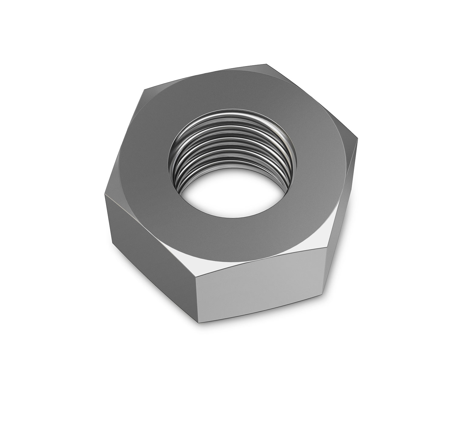 1037470 Stainless Steel Hex Nut - 0.86 x 0.425 in alt 1