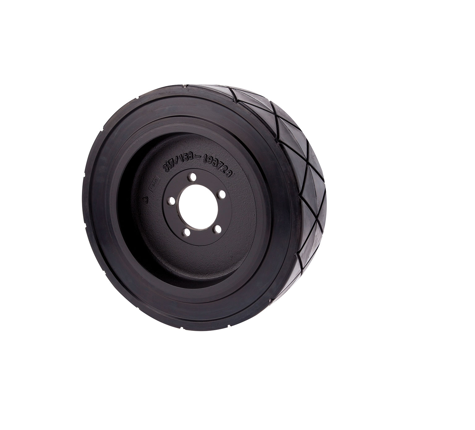 1061873 Rubber Tire &#38 Rim Assembly alt 1