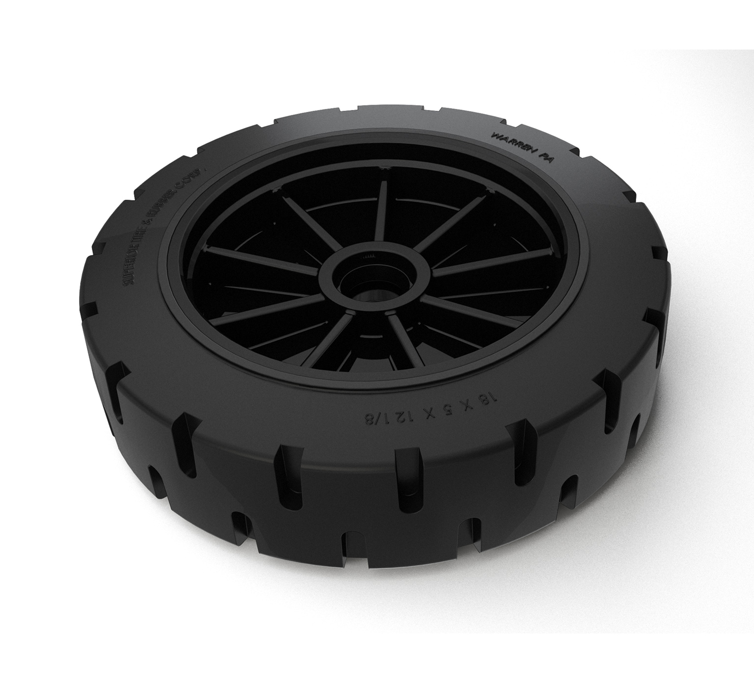 1063247 Solid Tire &#38 Rim Assembly alt 1