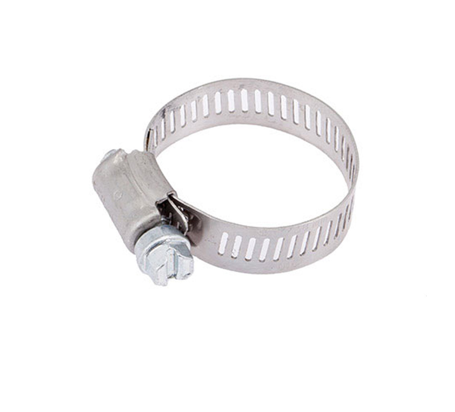 11399 Stainless Steel Hose Clamp - 0.75 - 1.5 in D x 0.5 in alt 1