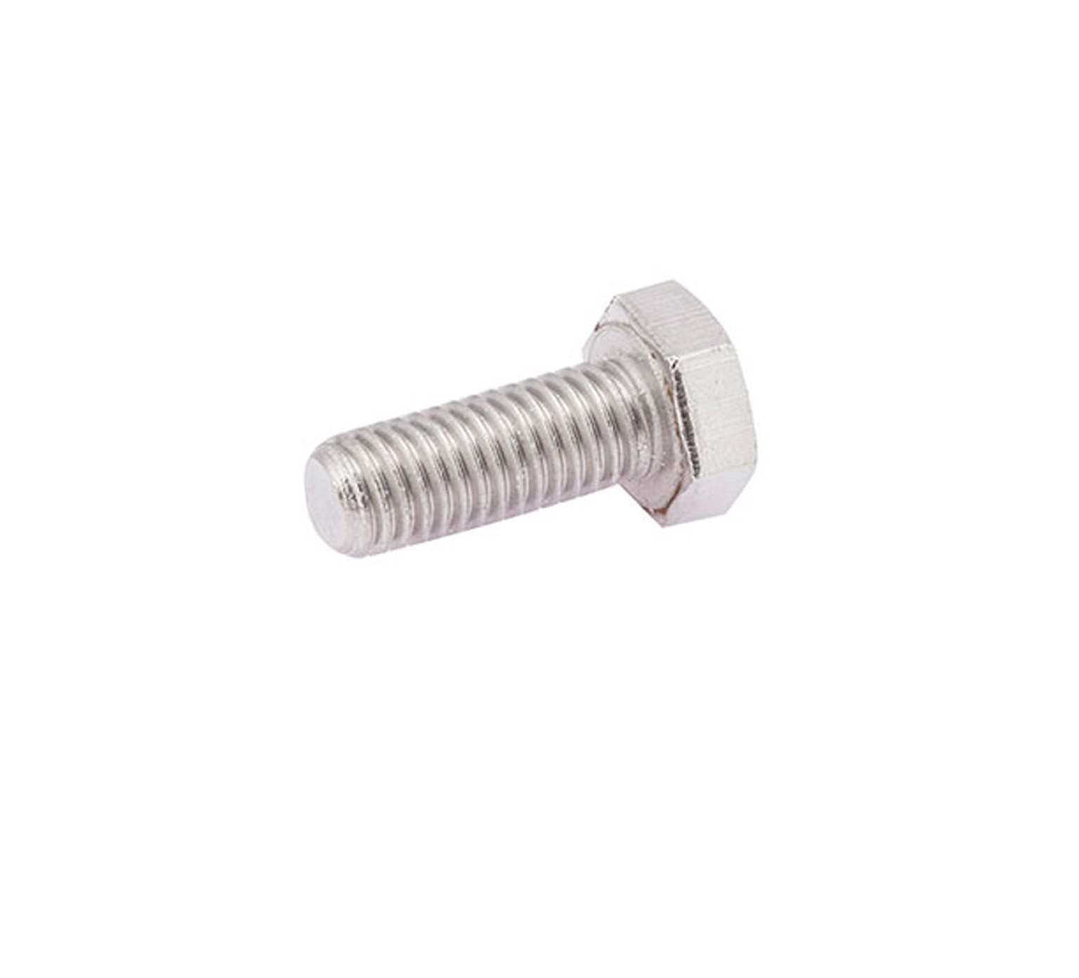 12273 Stainless Steel Hex Screw - M8 Thread x 1 in alt 1