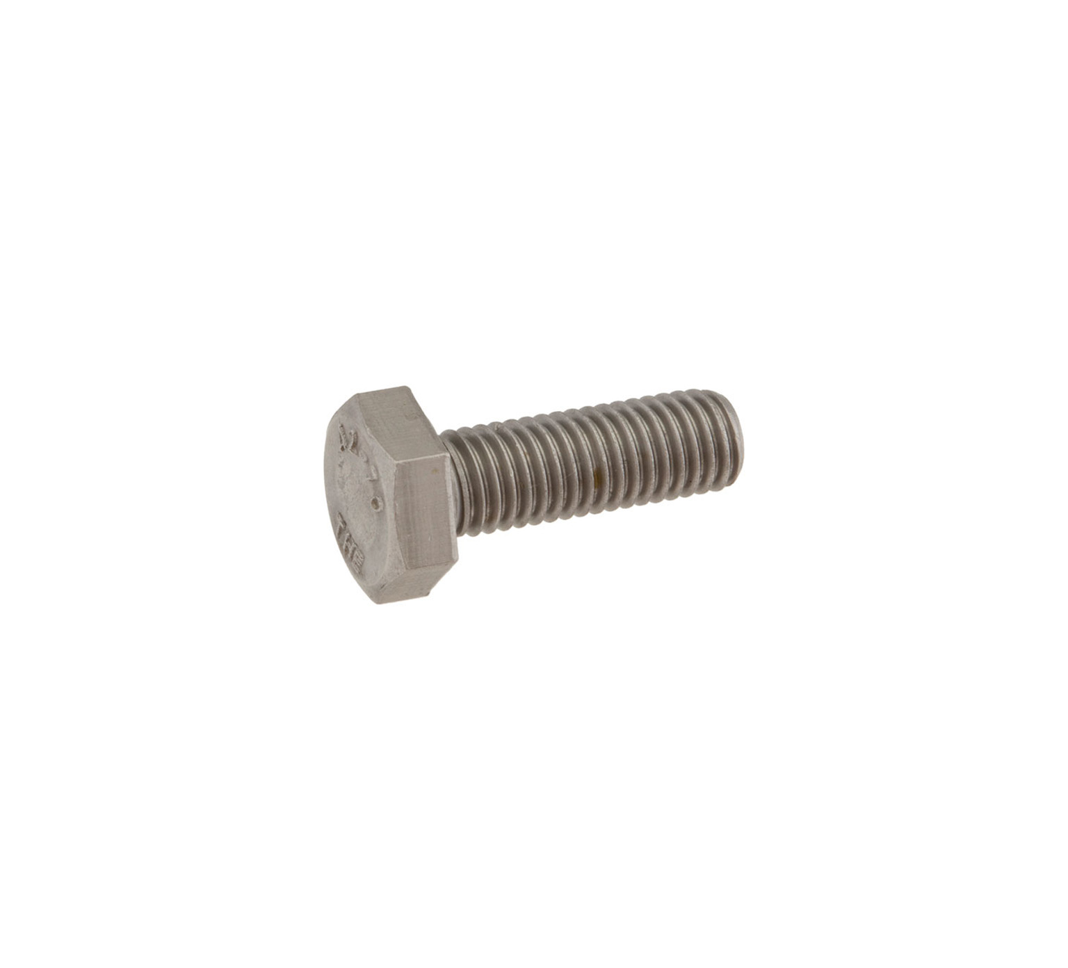 12317 Stainless Steel Hex Screw - M10 Thread x 1.15 in alt 1