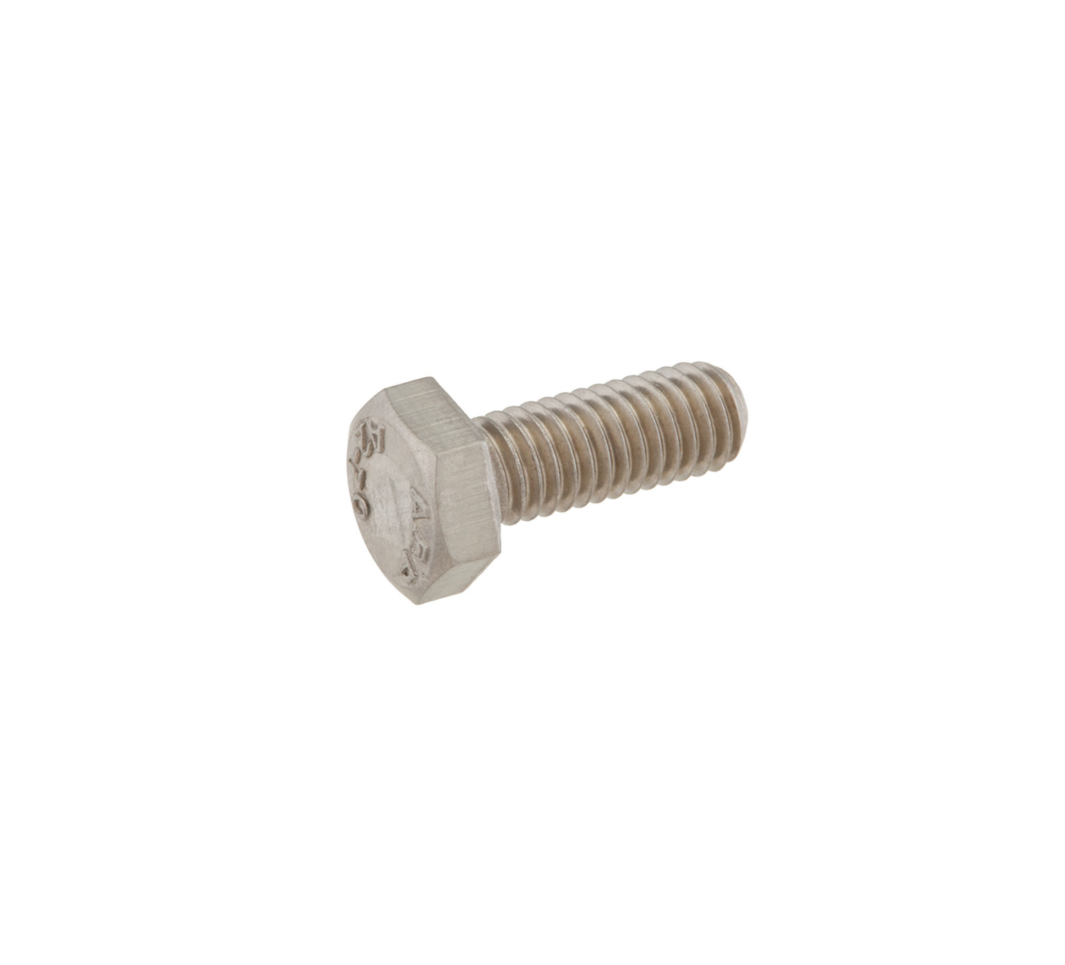15678 Stainless Steel Hex Screw - M6 Thread x 0.62 in alt 1
