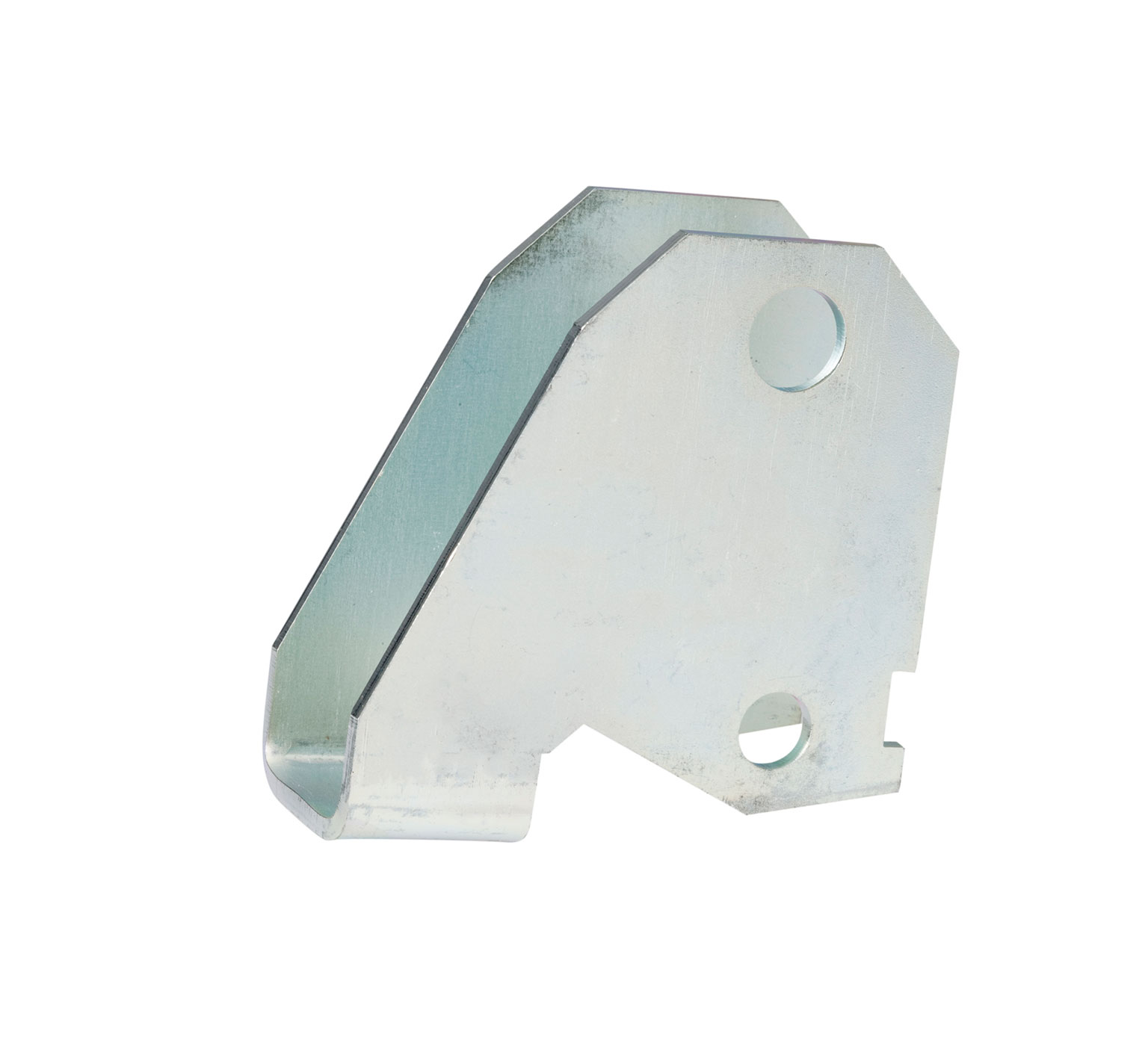 222245 Steel Wheel Mounting Bracket - 3.2 x 3 in alt 1