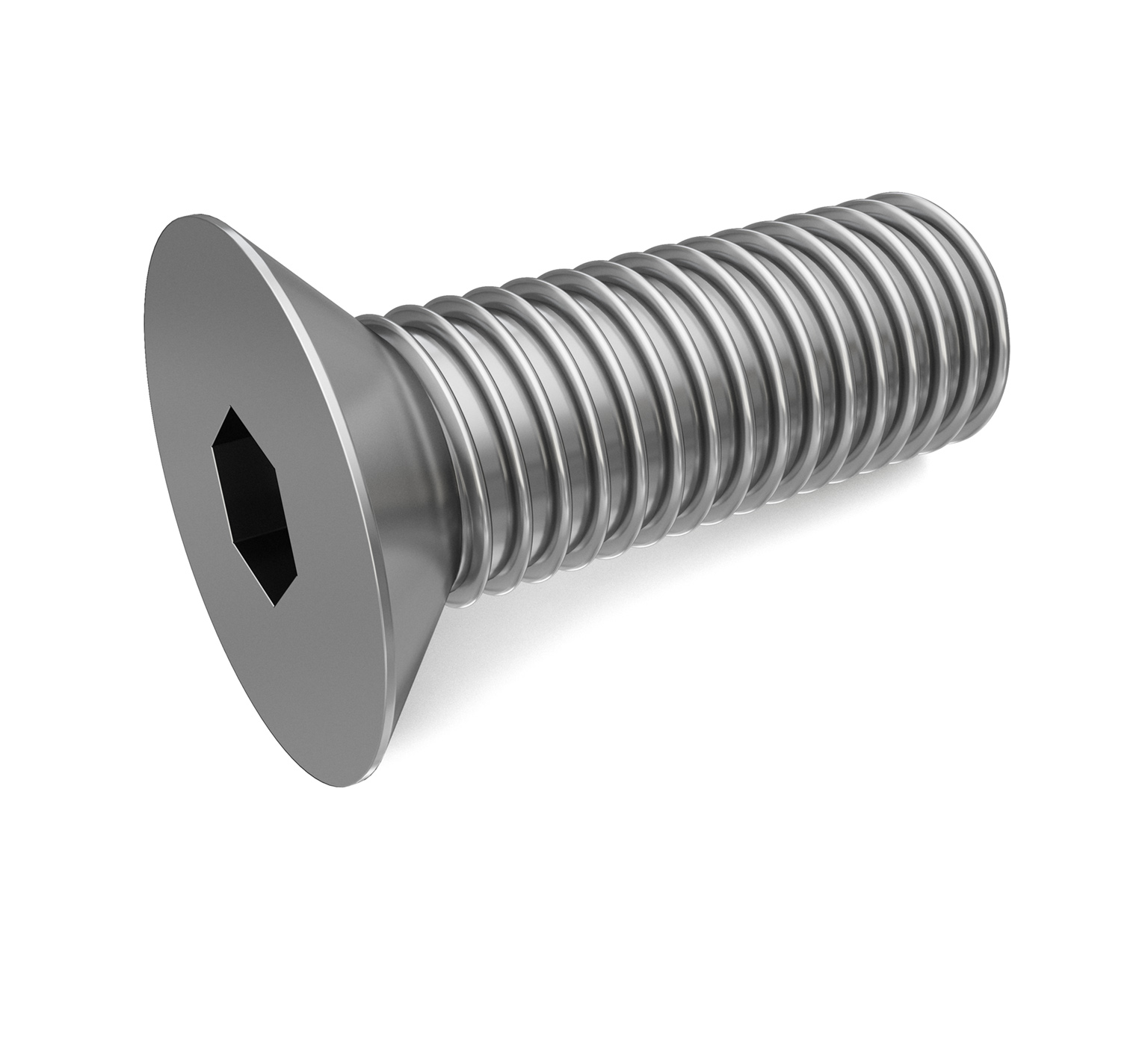 222692 Stainless Steel Screw - M8 Thread x 1.25 in alt 1