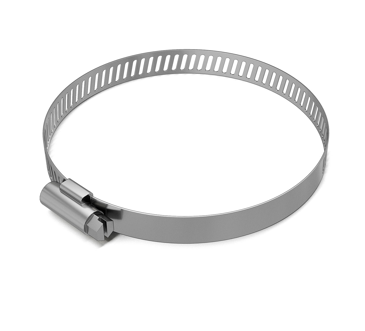 23498 Stainless Steel Hose Clamp - 3.562 - 4.5 in x 0.5 in alt 1