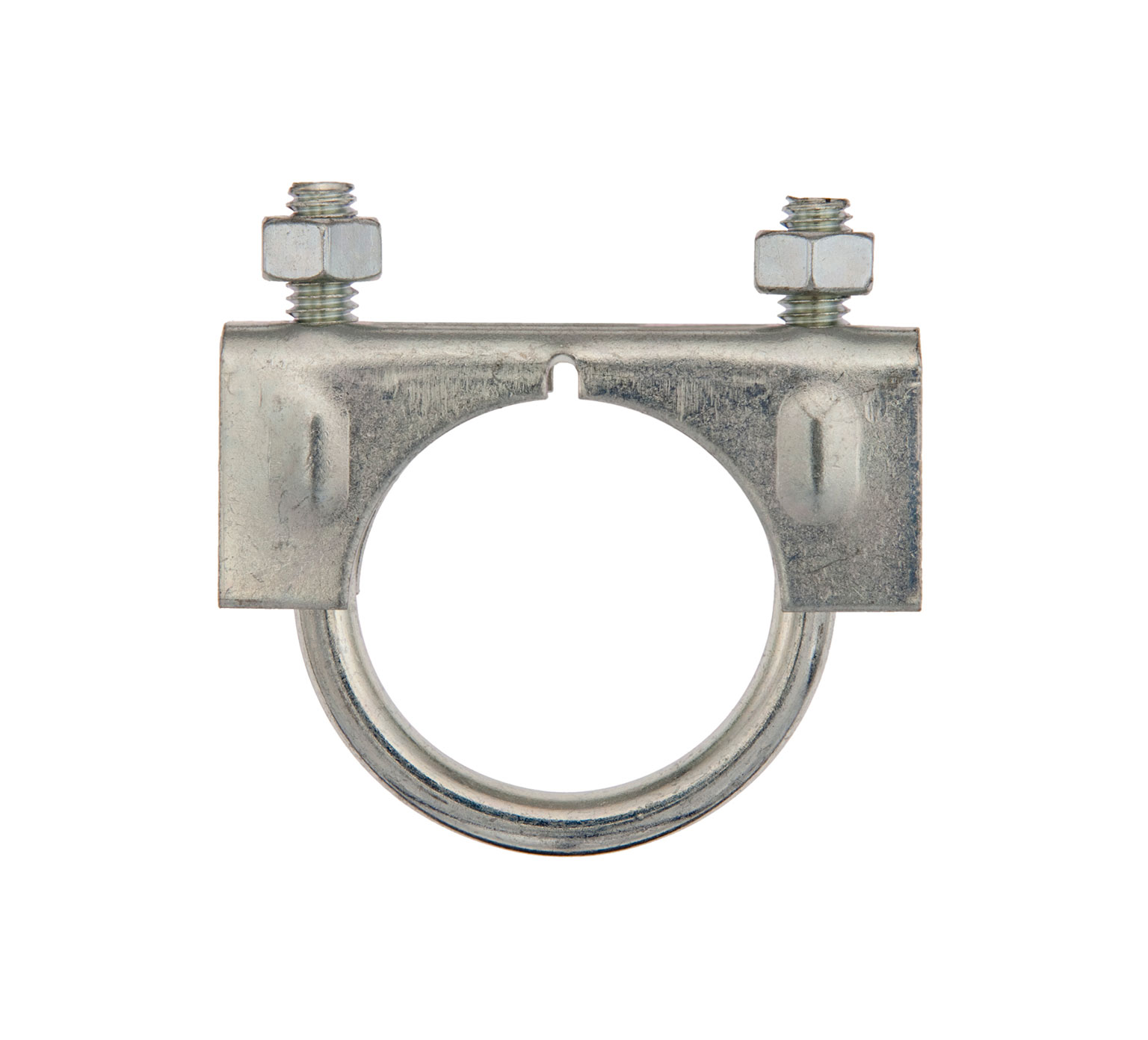 24012 Steel Muffler Clamp - 2.88 x 0.59 x 1.321 x 0.885 in ID alt 1