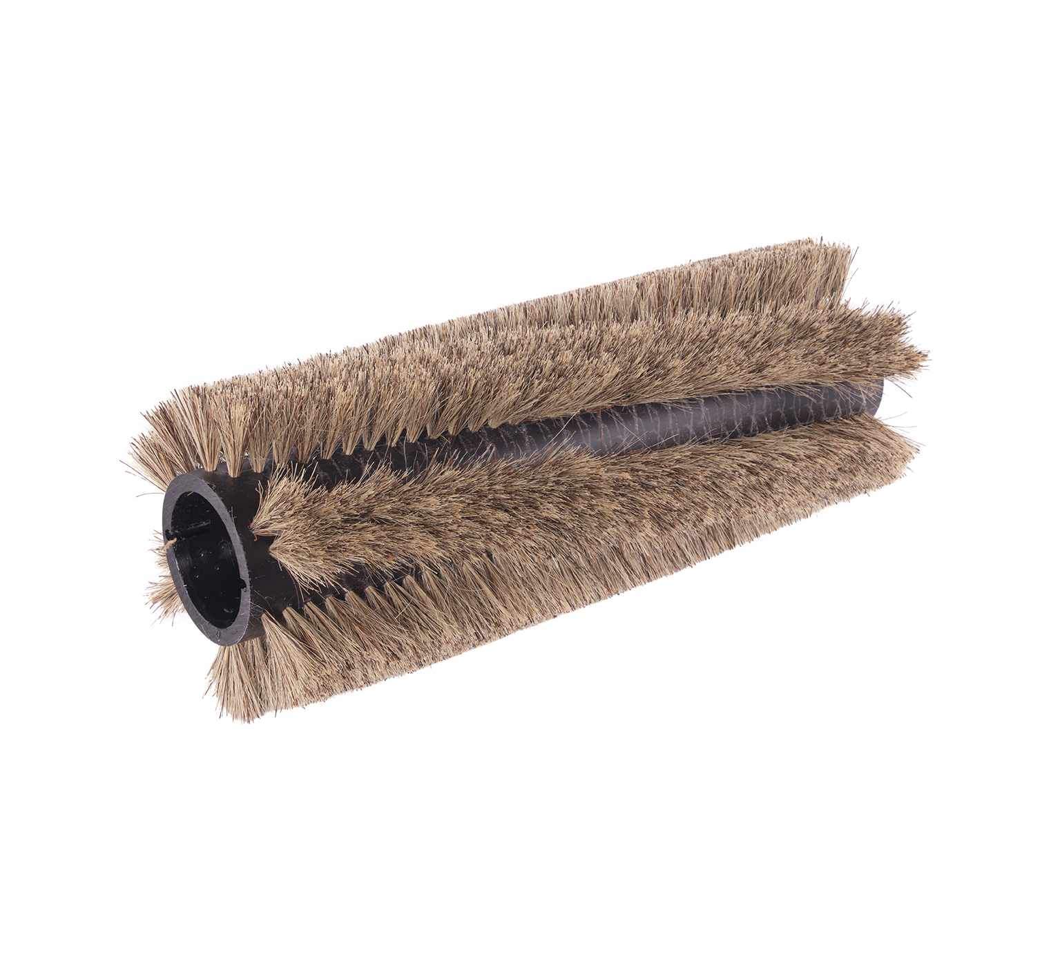 28002 Natural Fiber/Wire Double Row Brush – 26 x 10 in alt 1