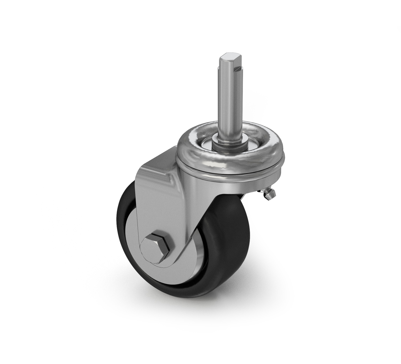 370133 Solid Elastomer Swivel Caster alt 1