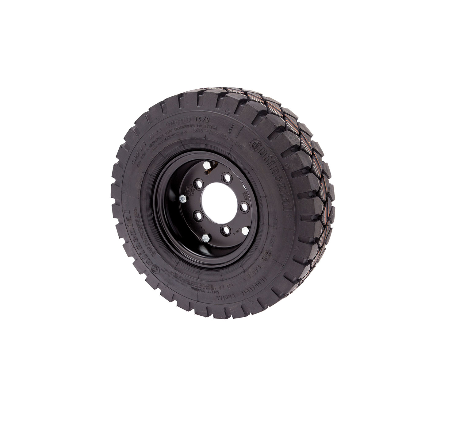 374602 Polyurethane foam filled tire  &#38 Rim Assembly alt 1