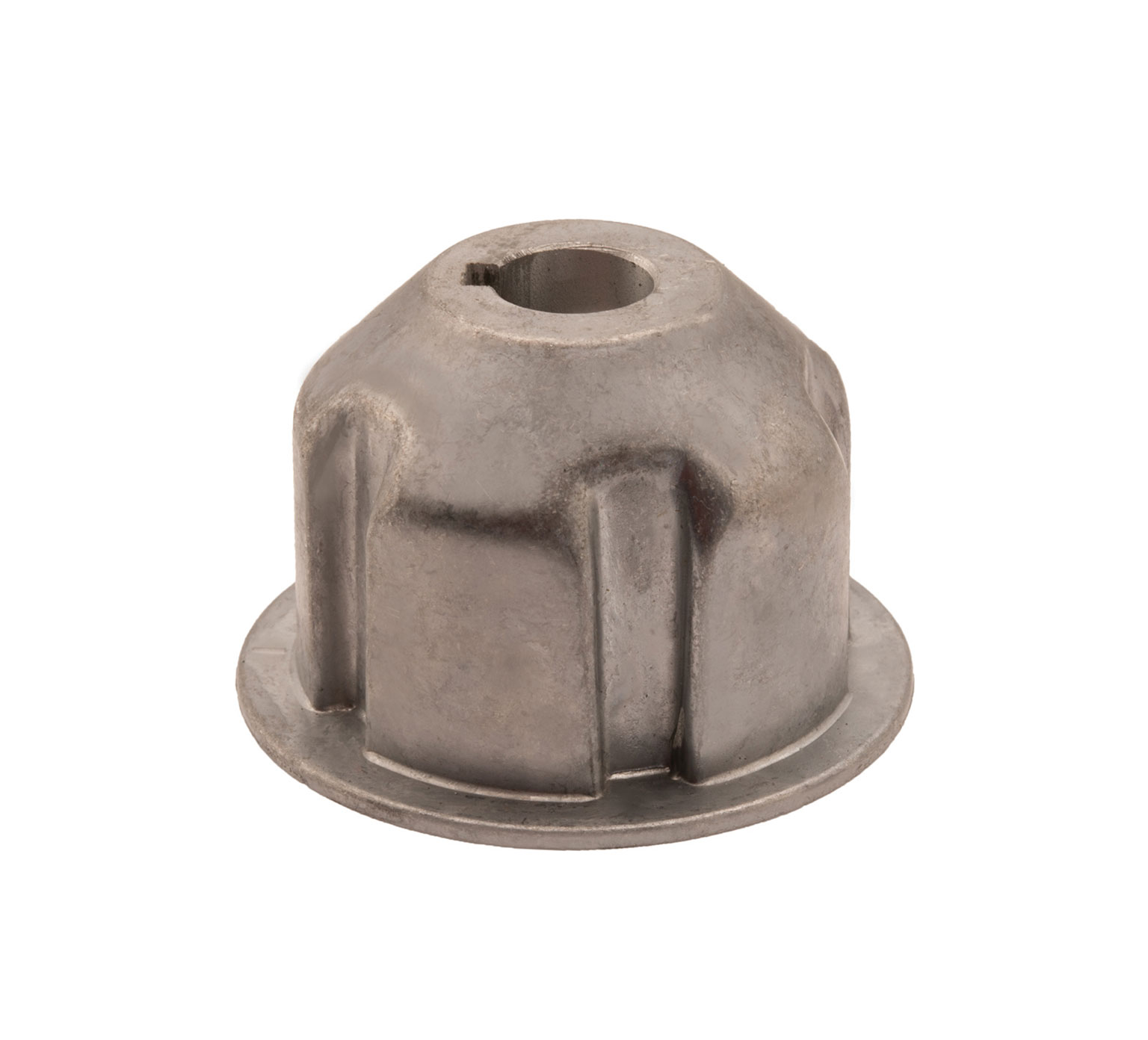 378805 Aluminum Brush Drive Plug - 2.6 x 1.68 in alt 1