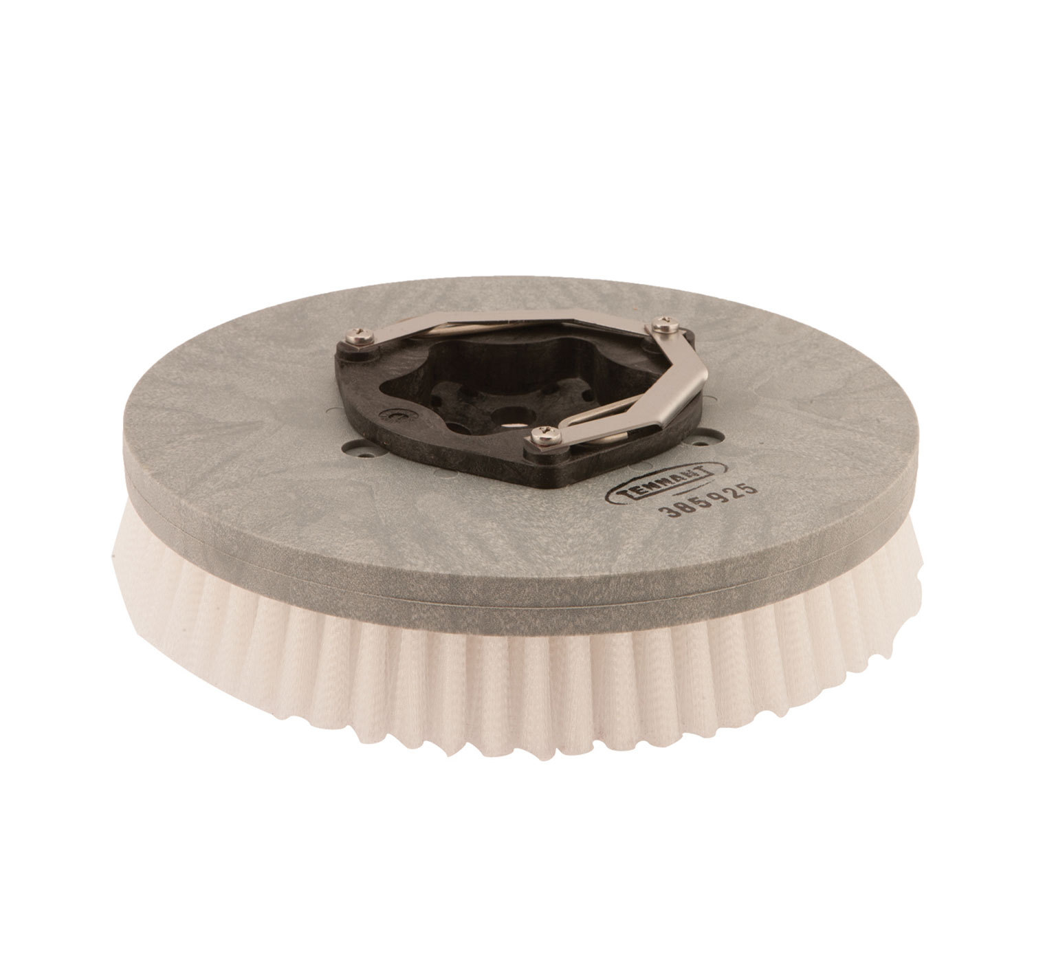 385925 Nylon Disk Scrub Brush Assembly – 13 in / 330 mm alt 1