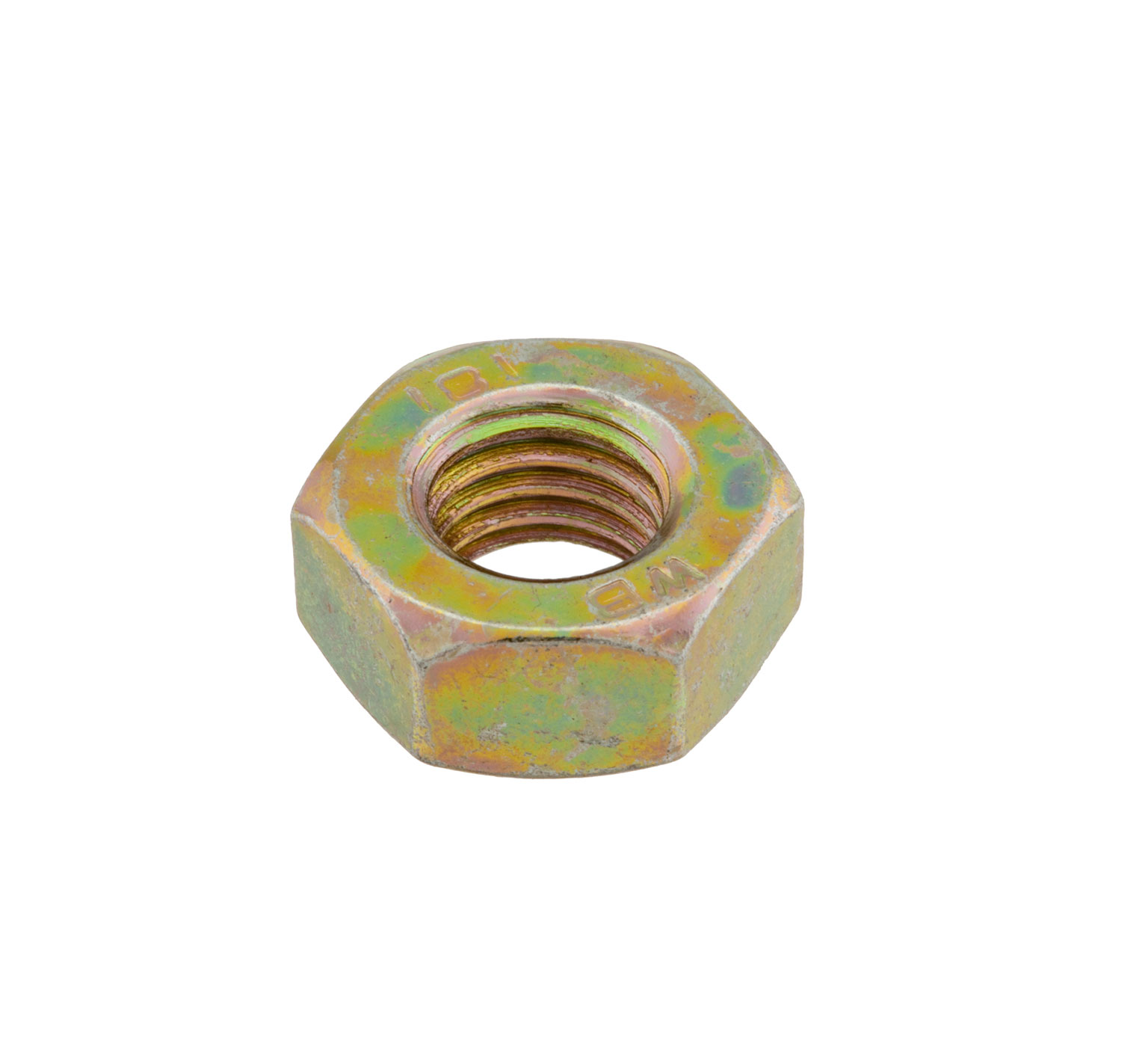 39312 Steel Hex Nut - 0.669 x 0.314 in alt 1
