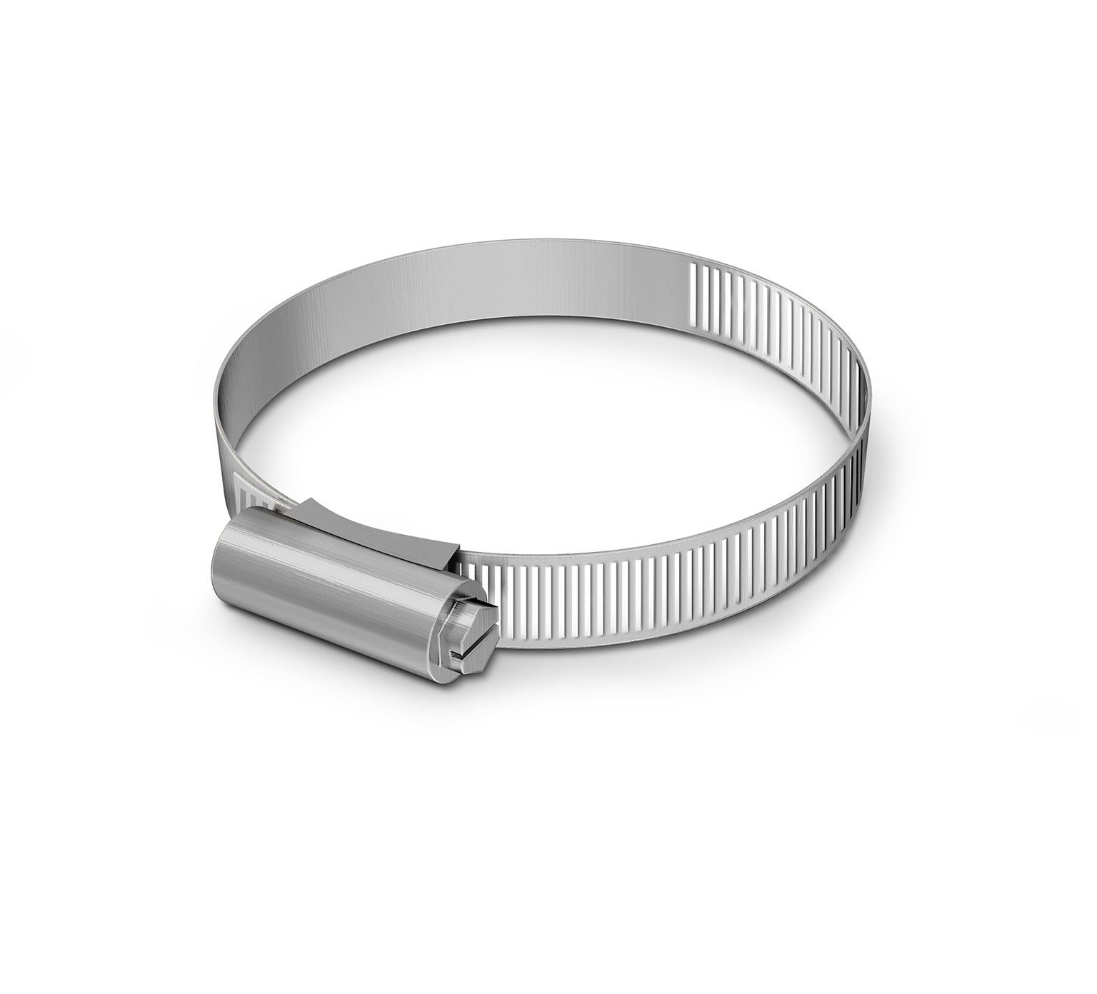 43555 Stainless Steel Hose Clamp - 2.62 - 3.5 in x 0.5 in alt 1