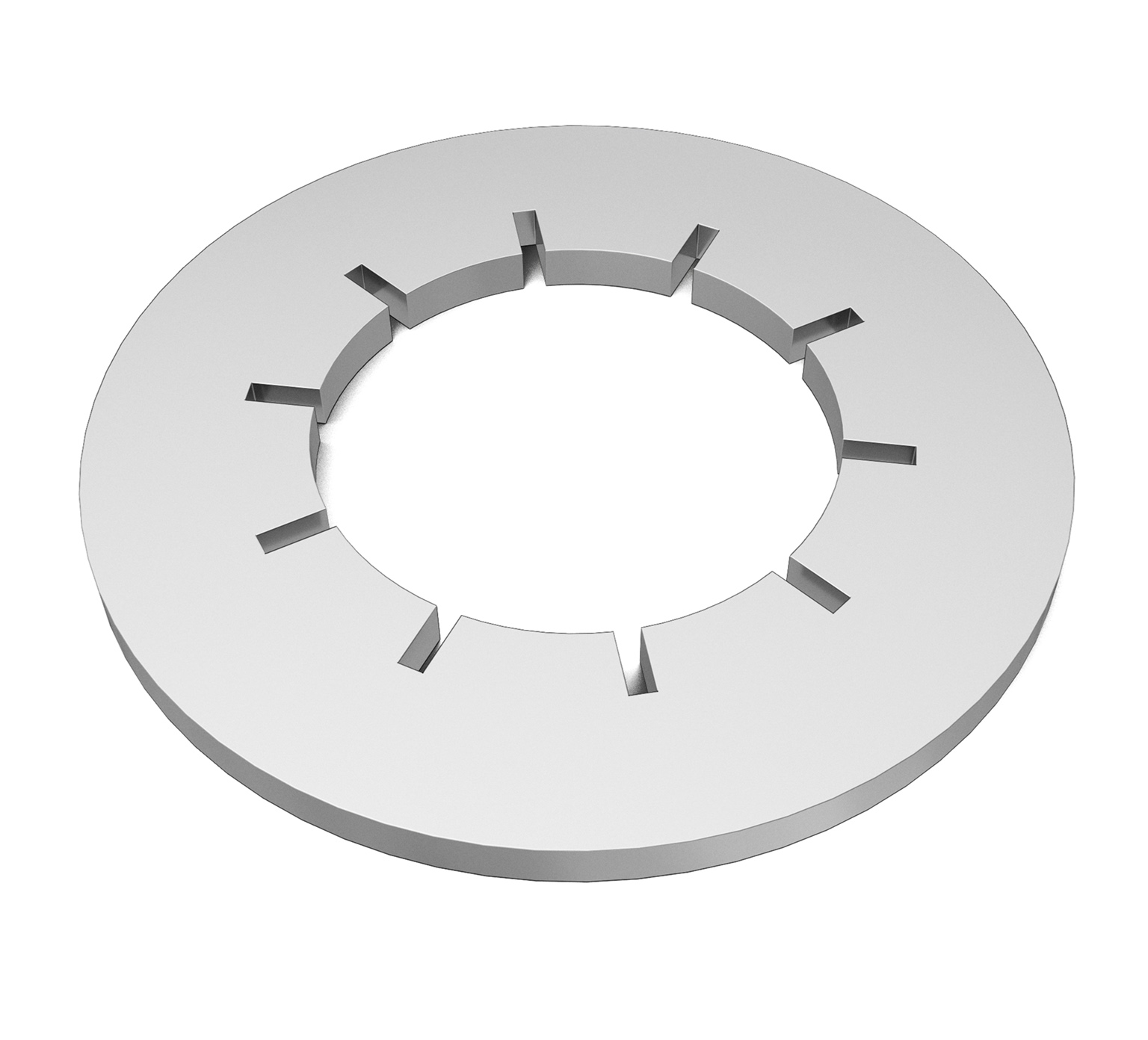 43952 Stainless Steel Lock Washer - 0.6 x 0.03 in alt 1