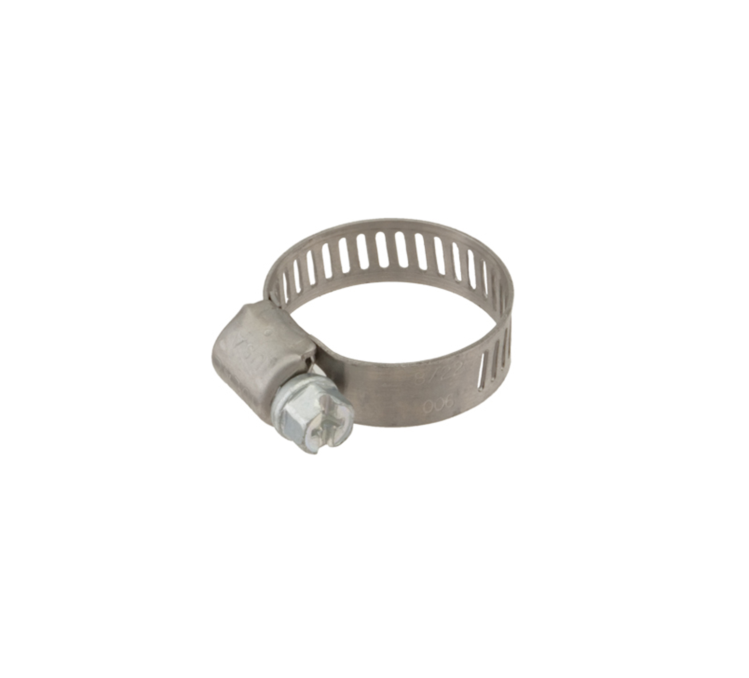 54333 Stainless Steel Hose Clamp - 0.31 - 0.88 in x 0.31 in alt 1