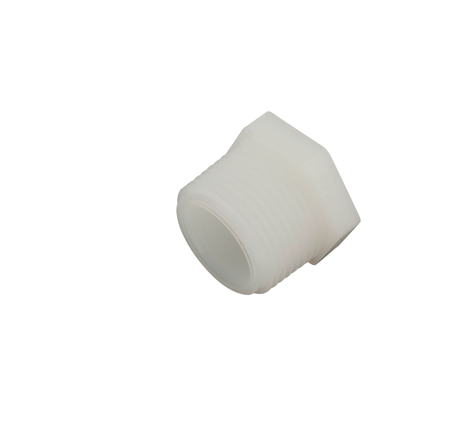 75611 Nylon Plug Fitting - 1.12 x 0.94 in alt 1
