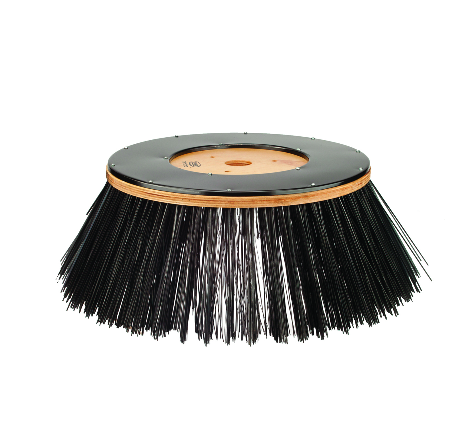 761213 Wire Disk Sweep Brush – 32 in / 800 mm alt 1