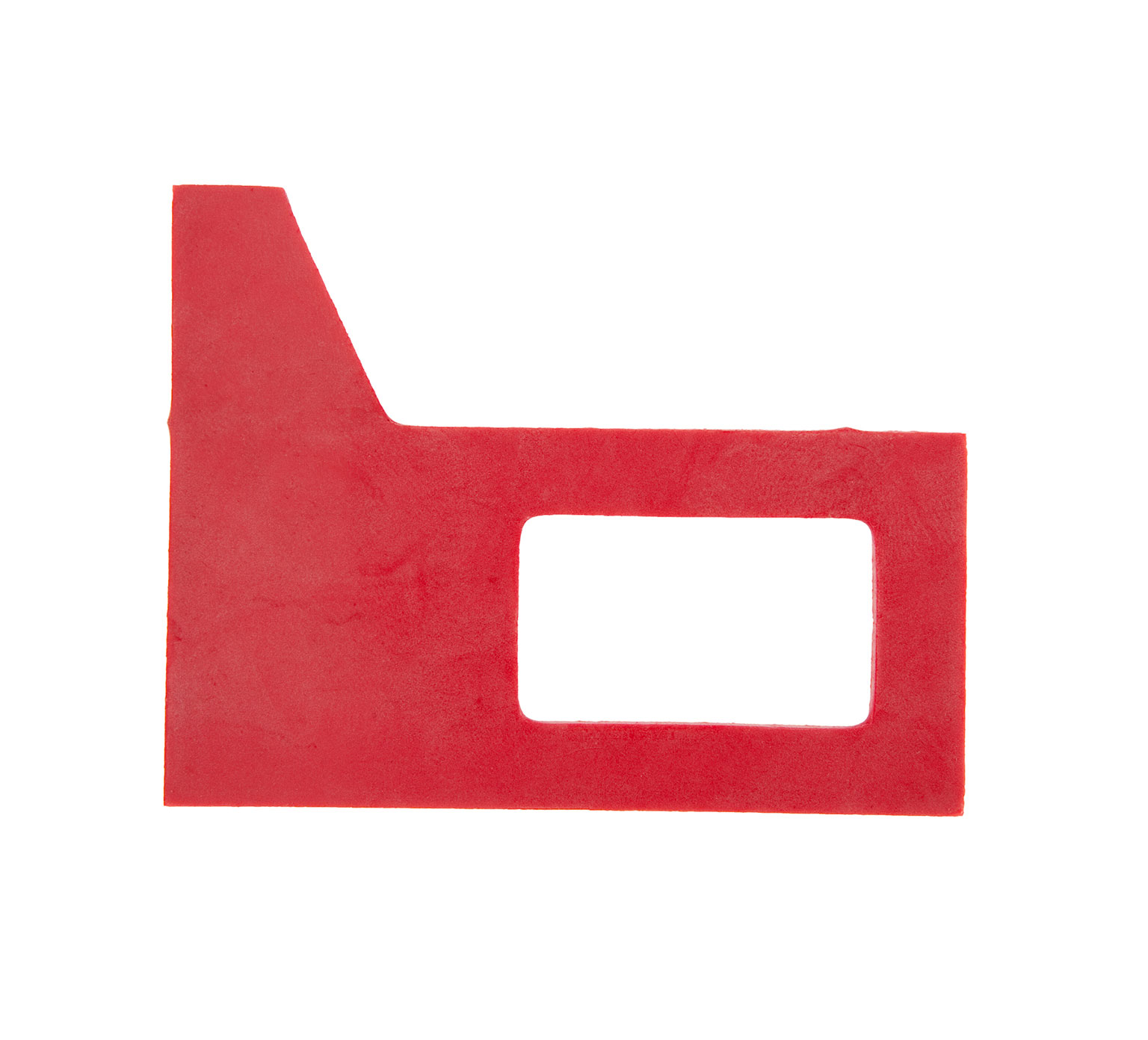 83874 Dura-Shield Red Rubber Squeegee Gasket alt 1