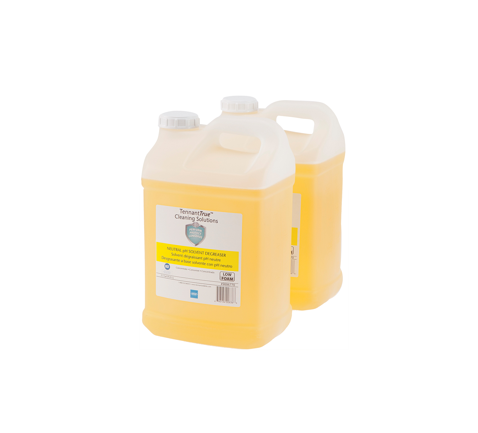 9006770 Yellow Neutral pH Solvent Degreaser – (2) 2.5 gallon alt 1