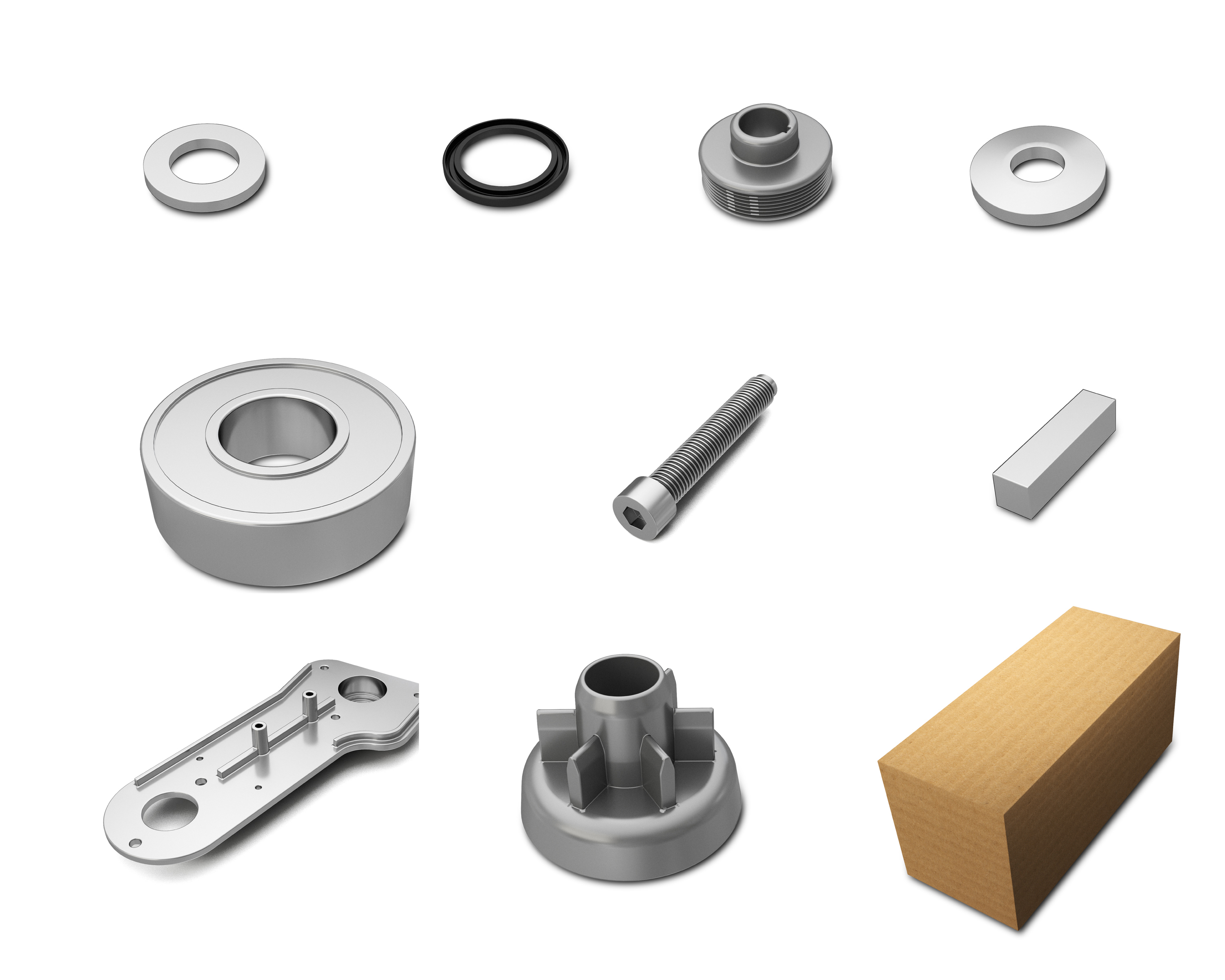 9008296 Motor Mount Bracket Kit alt 1