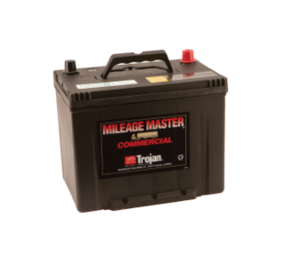10143 12 Volt Wet Trojan Battery alt