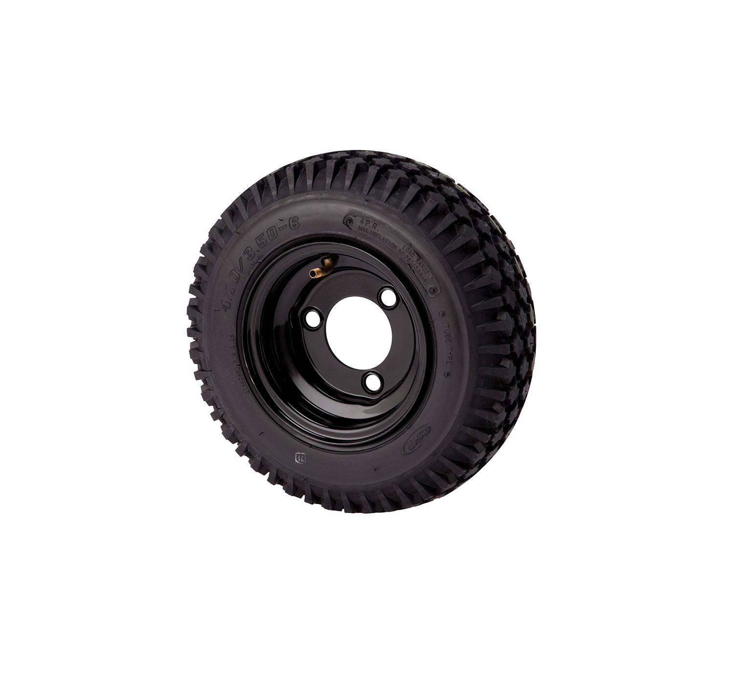 3 Bolt Polyurethane Foam Filled Tire Assembly 1052674