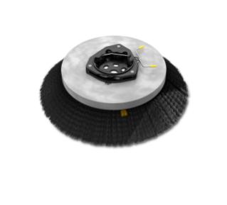 1220186 Polypropylene Disk Sweep Brush Assembly – 19 in / 482 mm alt