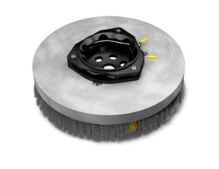 1220190 Assemblage de brosse de récurage à disque super-abrasive – 18po / 457mm alt