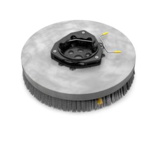 1220237 Polypropylene Disk Scrub Brush Assembly – 14 in / 356 mm alt