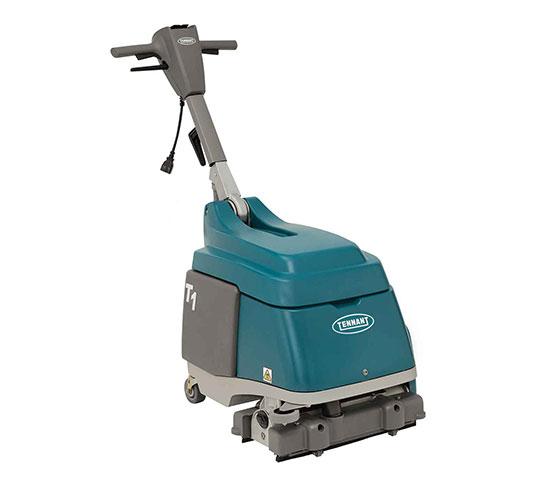 T WalkBehind Micro Scrubber Tennant Company - Floor scrubber rental miami