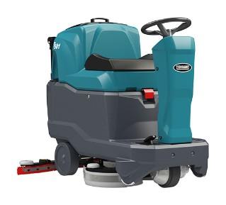 T581 Micro Ride-On Floor Scrubber alt