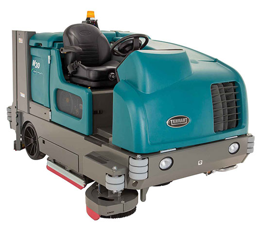 M30 Ride On Sweeper Scrubber Tennant Company
