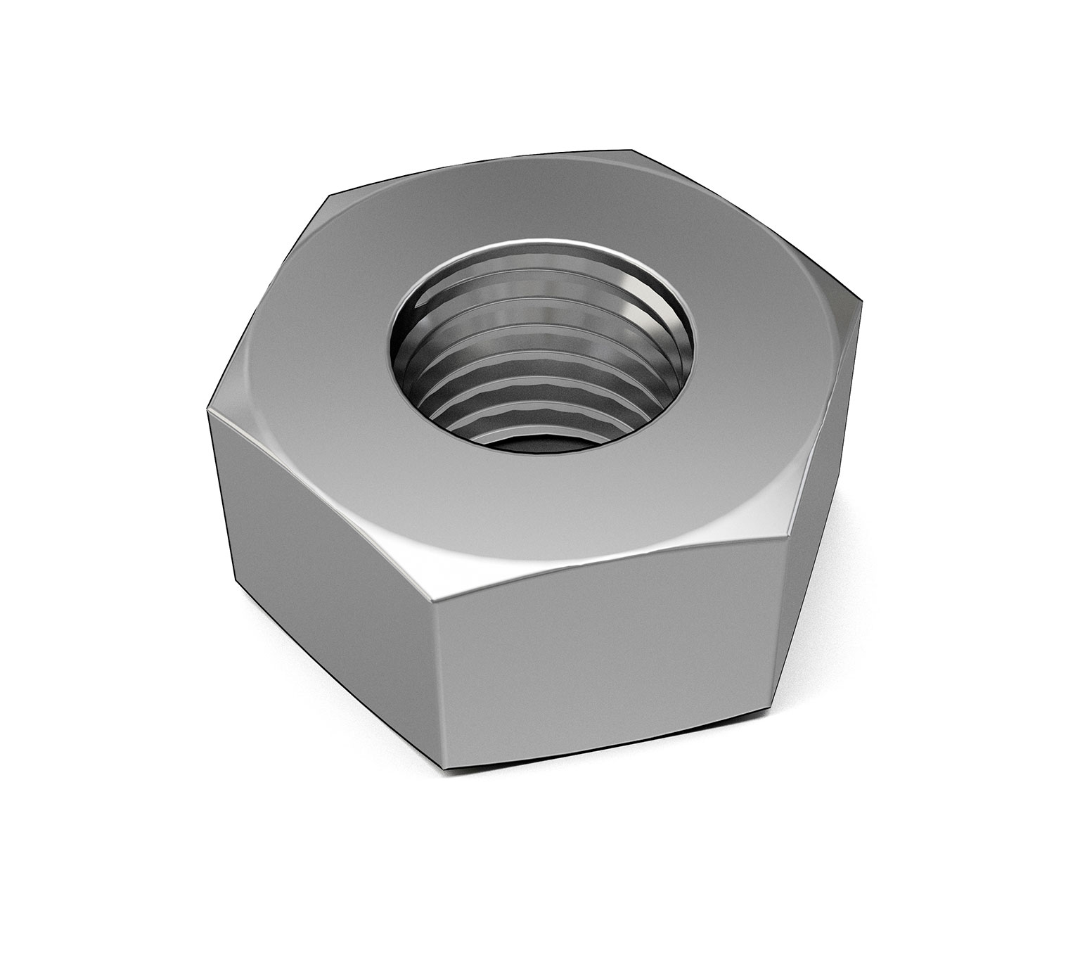 Nologo Hex Nut Stainless Steel Serrated Hex Nut Dimensioni : 100pcs M3
