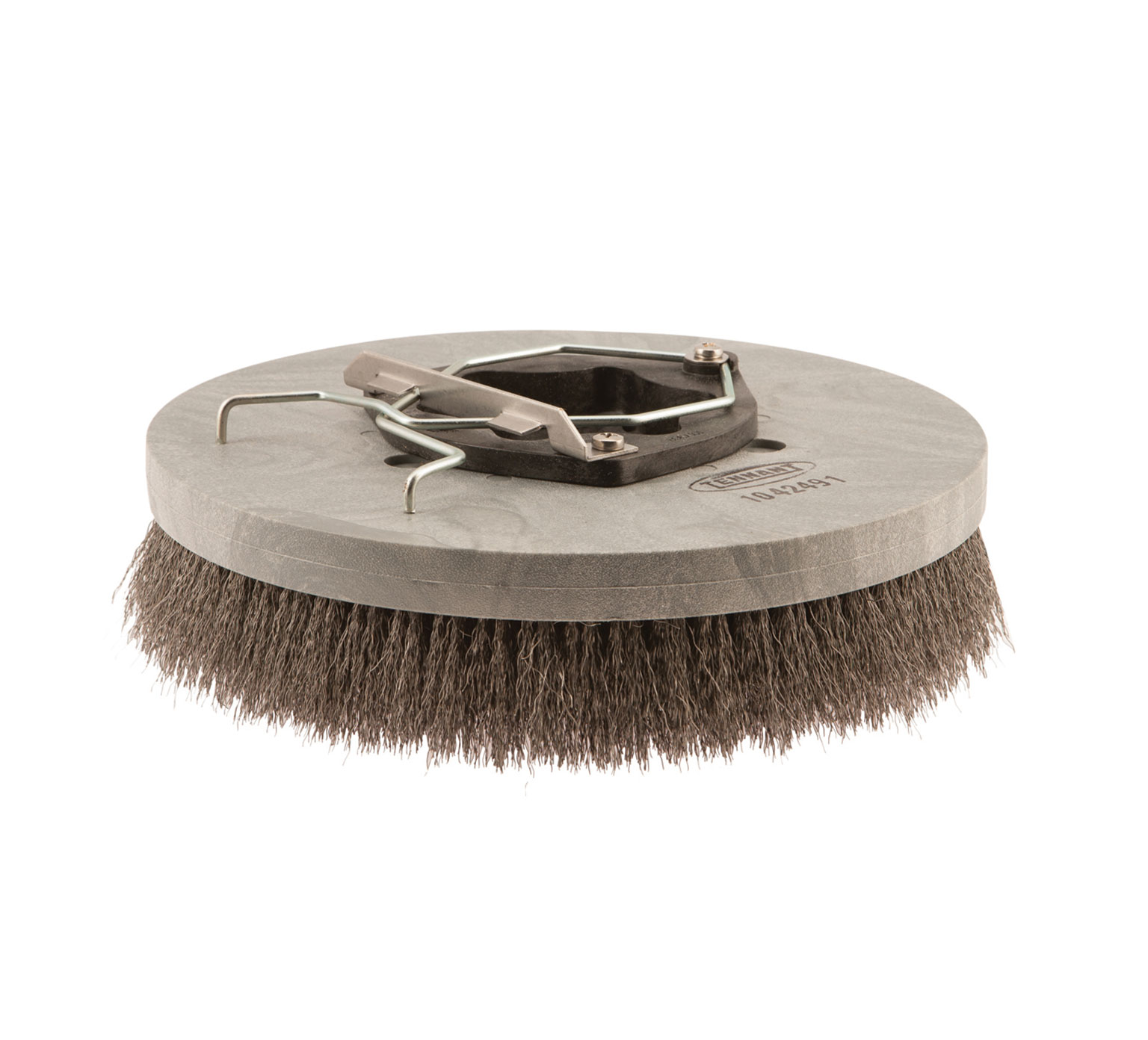 Wire Scrub Brush | Tennanttrue Wire Disk Scrub Brush 13 In 330 Mm Pn 1042491