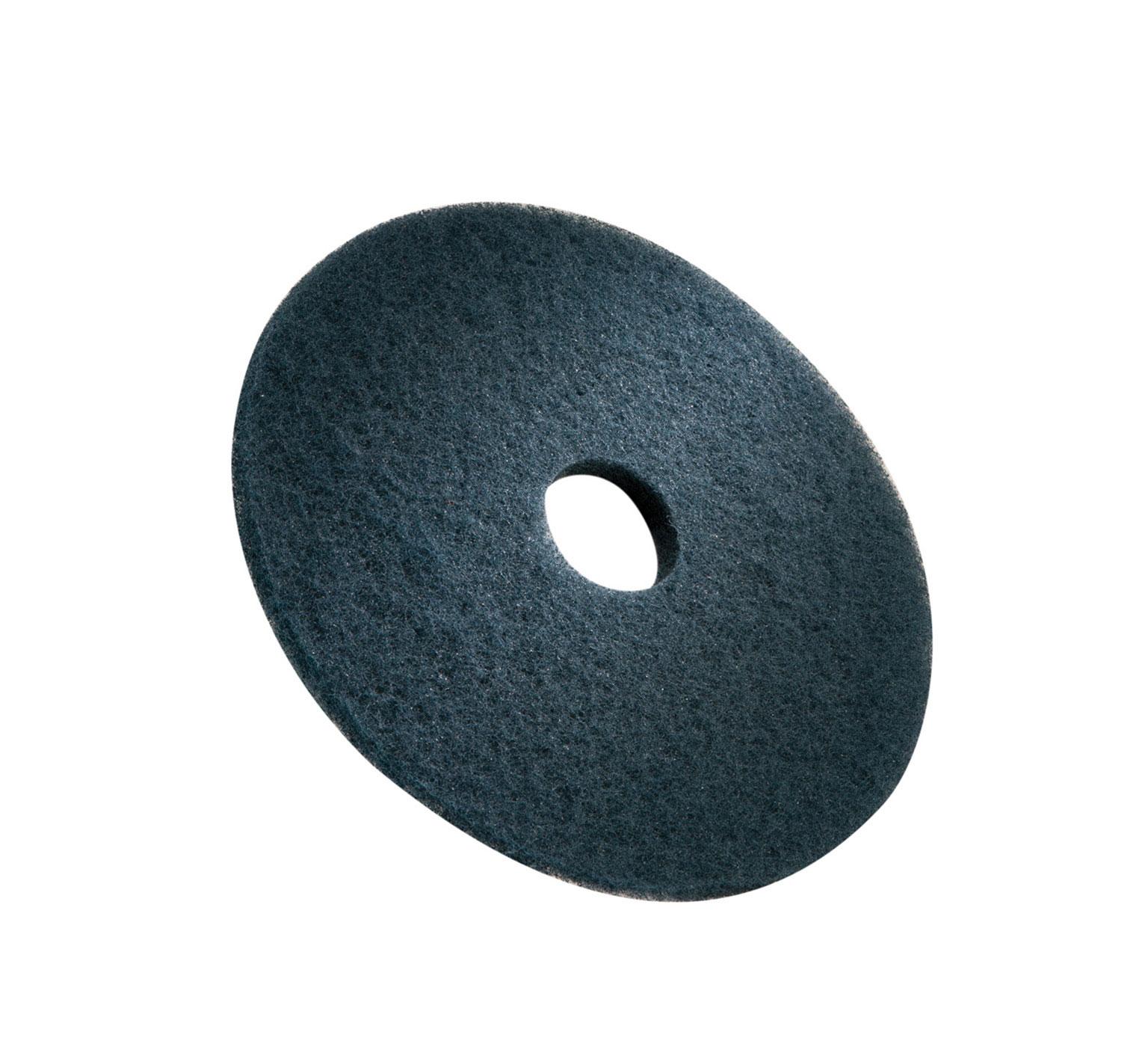 Tennanttrue 3m Blue Scrubbing Pad 17 In 432 Mm Pn