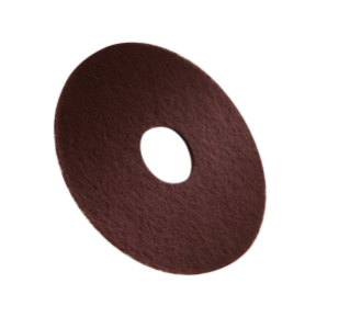 1051024 3M Maroon Stripping Pad – 13 in / 330 mm alt