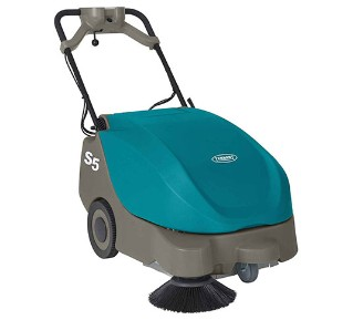 S5 Compact Battery-Powered Walk-Behind Sweeper alt