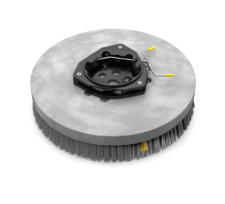 1220237 Polypropylene Disk Scrub Brush Assembly – 14 in / 356 mm alt