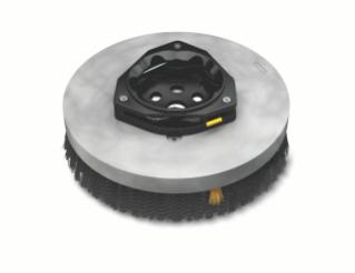 1220240 Polypropylene Disk Scrub Brush Assembly – 13 in / 330 mm alt