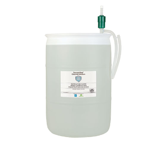 9006761 Clear Neutral pH Daily Cleaner with Pump – 55 gallon alt
