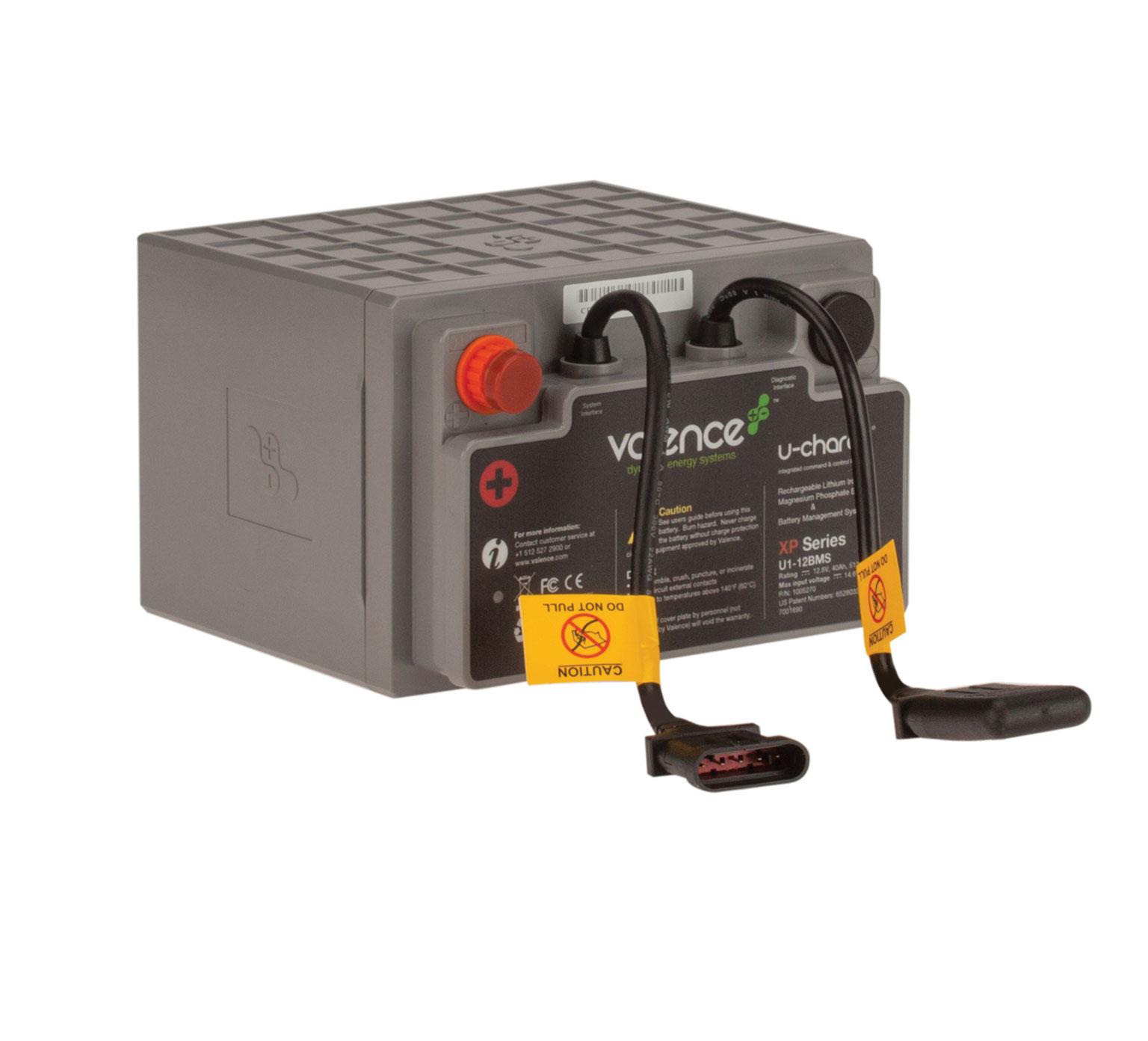 Tennanttrue 12 Volt Li Ion Valence Battery Kit Pn 9008690