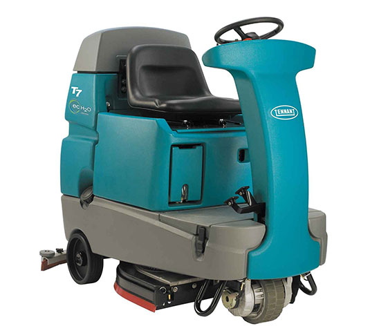 T7 Micro Ride On Floor Scrubber Tennant Company